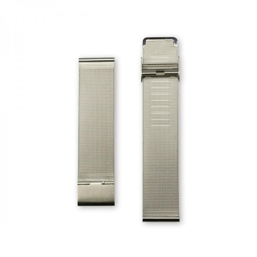 Silver metal strap